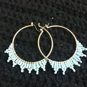 Stunning Blue Earrings